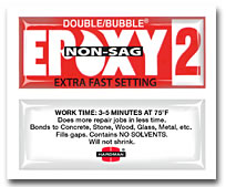 Double/Bubble Red EXTRA FAST NON SAG 04008